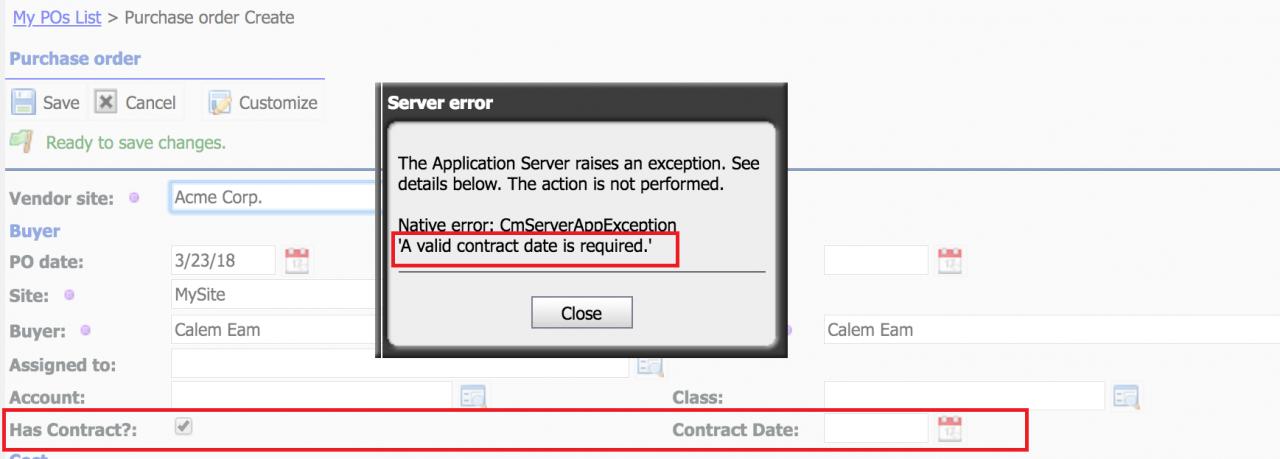 Calem Integration Part III: Custom Triggers