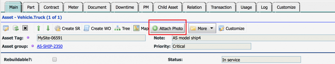 Add Asset Photo by Drag and Drop