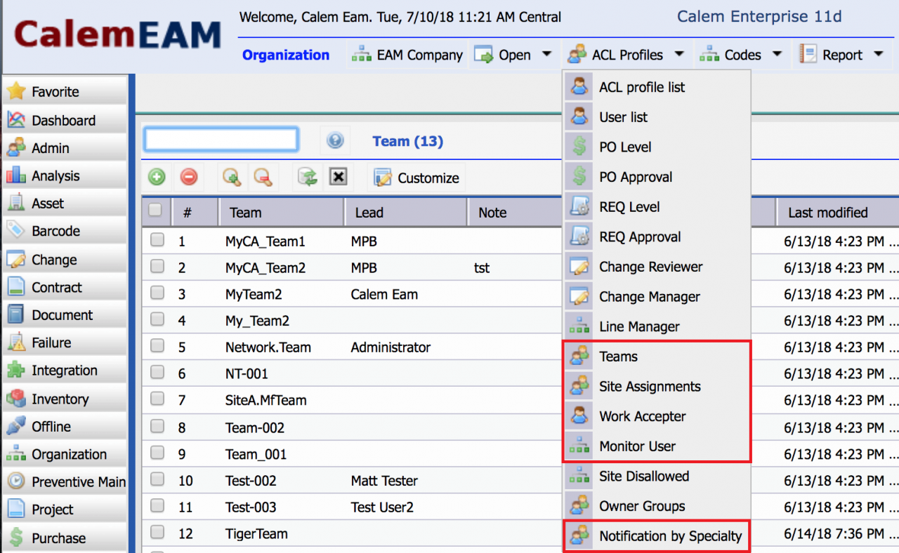When to Use Teams in Calem