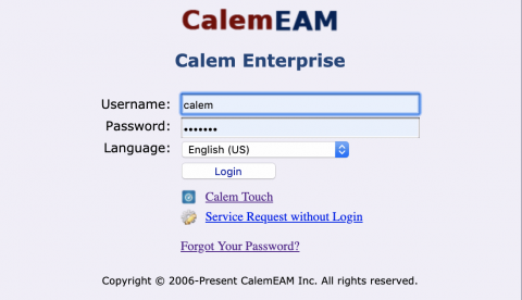 How to Implement Password Change Policy in Calem