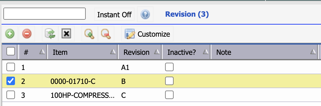 How to Use Item Revision in Calem